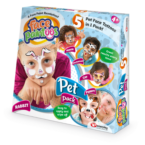 Face Paintoos Pet Pack