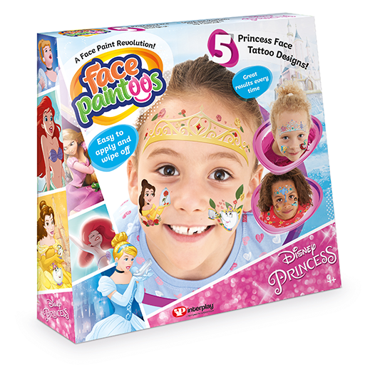 Disney Princess Face Paintoos