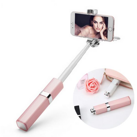 Rose Gold Selfie Stick
