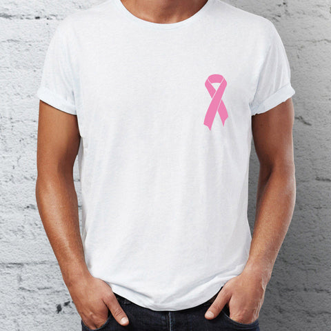 Pink Ribbon T-Shirt for Breast Cancer Awareness