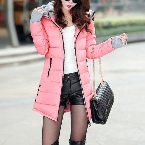 Pink Bubble Coat