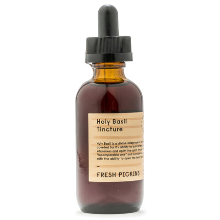 HOLY BASIL (TULSI) TINCTURE (2oz)