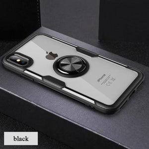1085-Drop-proof Transparent Phone Case For iPhone