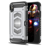 867-Car Armor Drop Case For iPhone X