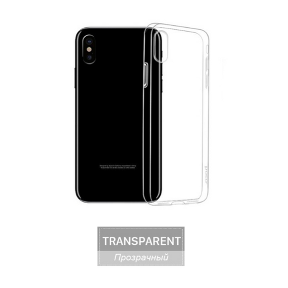 746-Slim Transparent Clear Soft Case For iPhone X