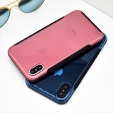 757-Transparent Armour Soft Case For iPhone X