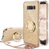 692-Bling Diamond Case For Samsung Note 8