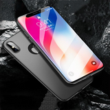 803-Ultra Thin PC Back Cover Case For iPhone X