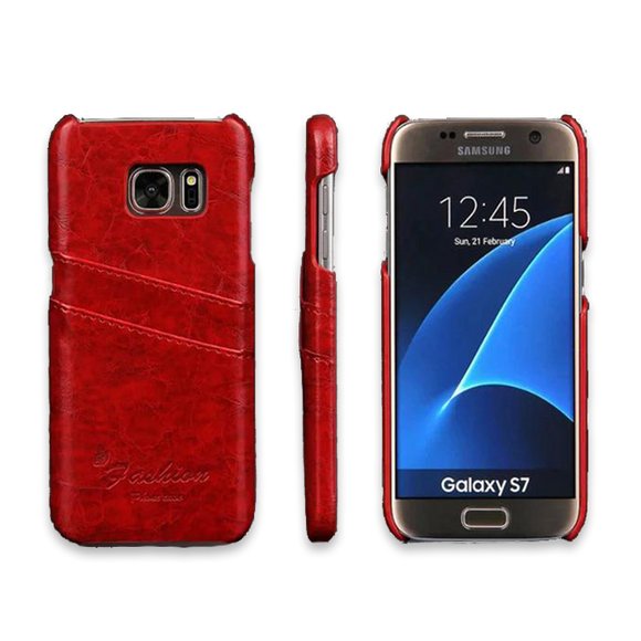 Luxury Leather Case For Samsung-1