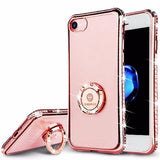 Bling Crystal Diamond Case For iPhone-pink
