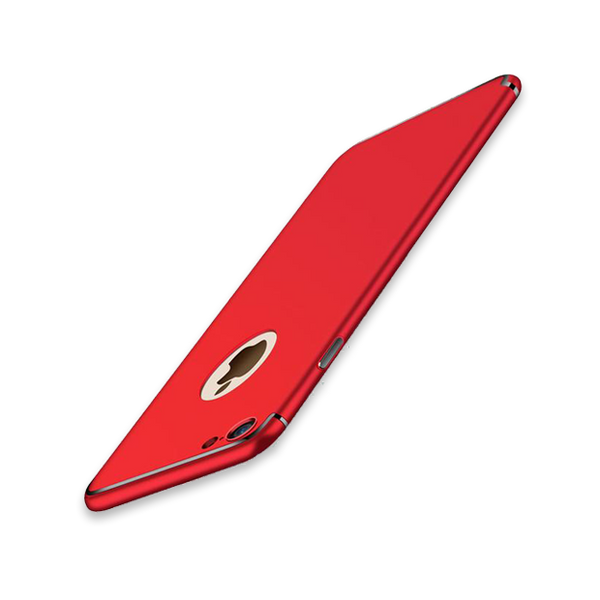 Ultra-thin Matte Slim Case For iPhone- 2 Pieces For Extra 15% OFF-Red