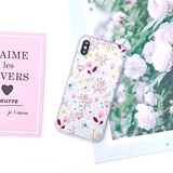 722-Flower Plants Leaf Phone Case For iPhone X