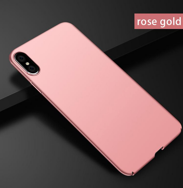 640A-Ultra Thin Luxury Case For iPhone X