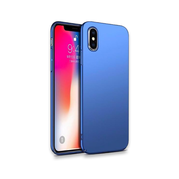 688-Super Luxury Full Body Case Hard Frosted PC Case For iPhone X