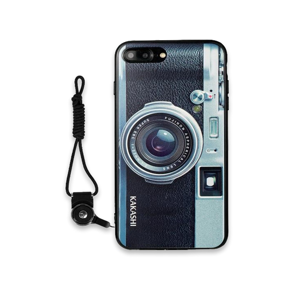 Luxury Vintage Camera Case For iPhone-Black Camera