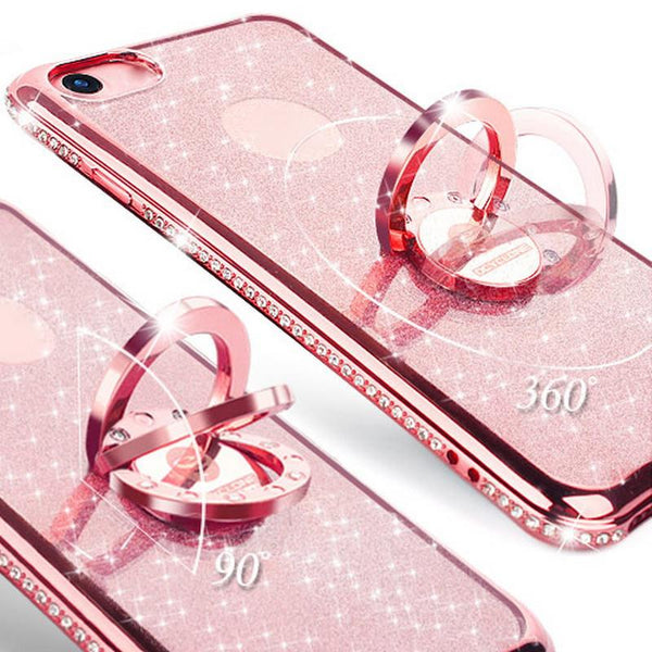 240-Luxury Diamond Case For IPhone 7/7+ With Rhinestones Bling Cover-2