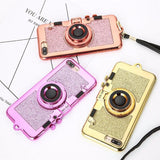 Luxury 3D Retro Camera Case For iPhone