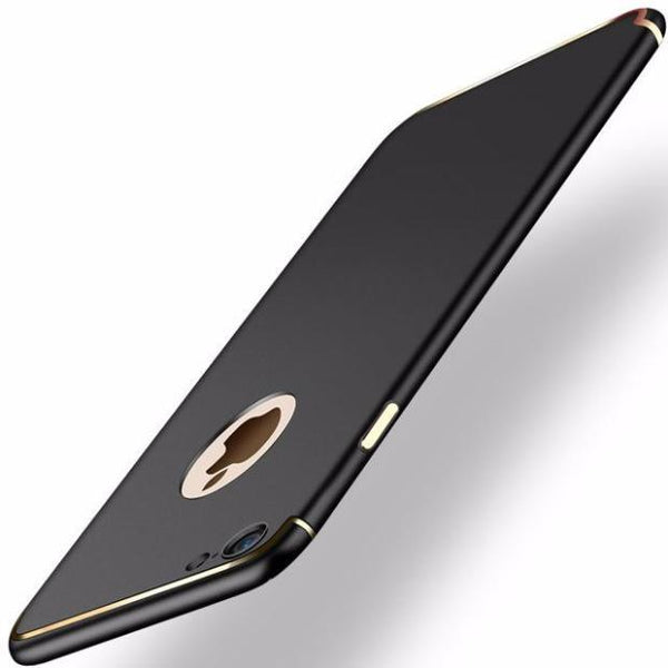 Ultra-thin Matte Slim Case For iPhone- 2 Pieces For Extra 15% OFF-Black