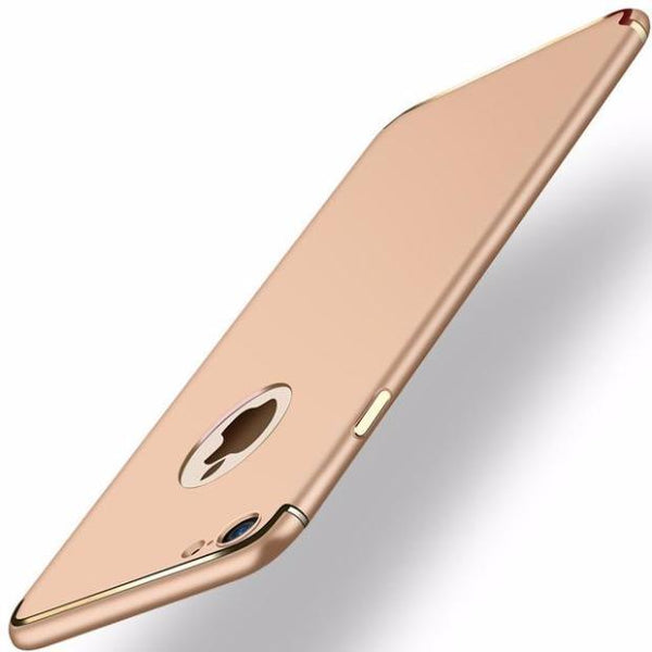 Ultra-thin Matte Slim Case For iPhone- 2 Pieces For Extra 15% OFF-Golden