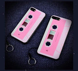 Luxury Vintage Camera Case For iPhone-Pink Tape