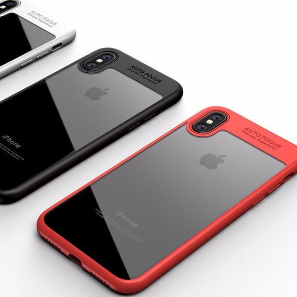 Toraise Acrylic Shockproof Transparent Cover Case For iPhone 8