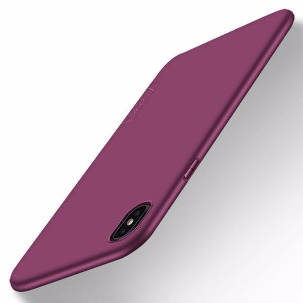 656-Ultra thin Soft Matte TPU Silicone Case For iPhone X