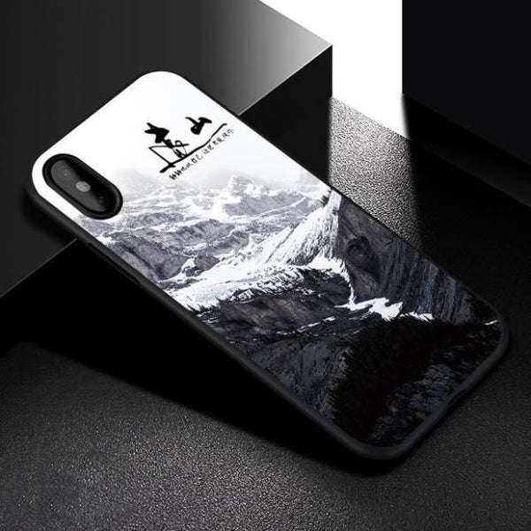 686-Natural Scenery Case For IPhone X
