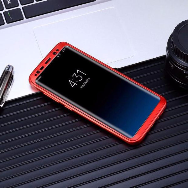 268-Luxury 360 Degree Soft Tpu Silicon Cases For Samsung