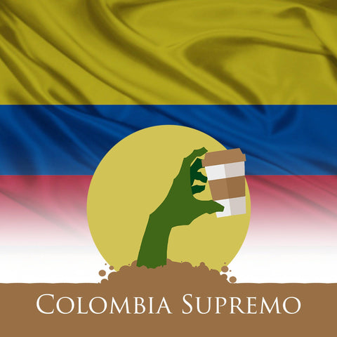 Colombia Supremo Coffee from Undead Coffee