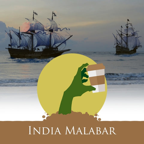 Coffee - India Malabar 'Monsooned Voyage' Coffee