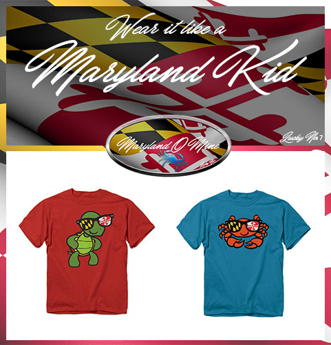 Maryland Themed Youths' Fashions
