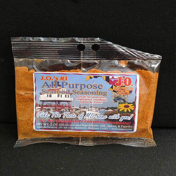 2 Ounce JO #1 All Purpose Seafood Seasoning - Maryland O Mine