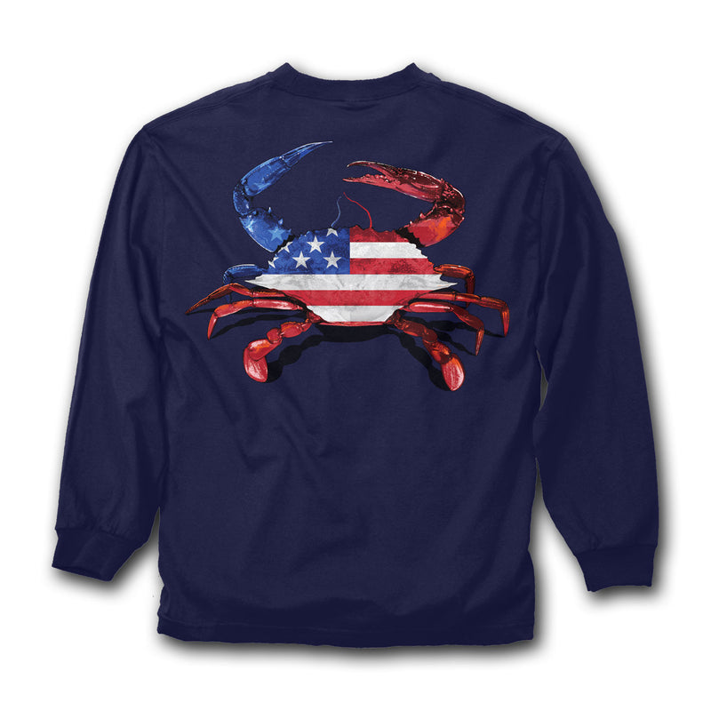 Americrab Long Sleeve - Maryland O Mine