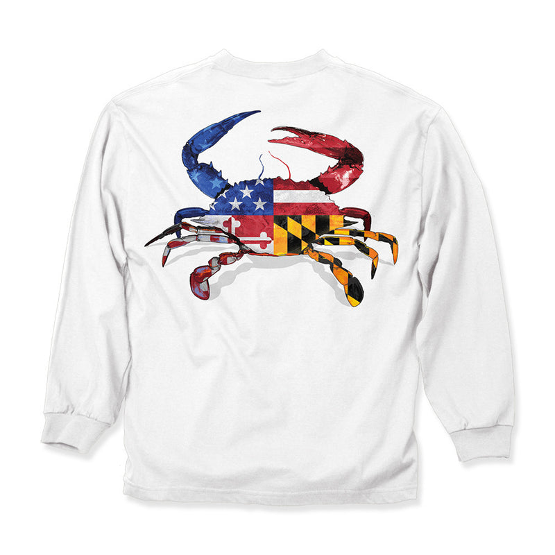 Ameriland Crab Long Sleeve - Maryland O Mine