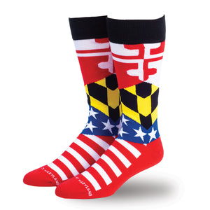 Ameryland Dress Socks - Maryland O Mine