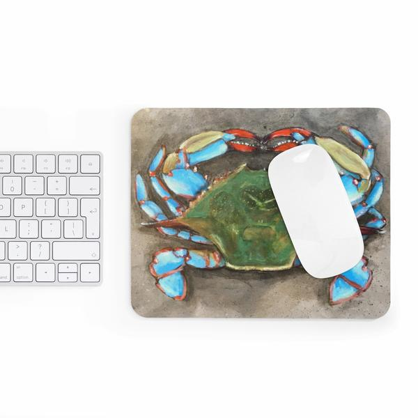 Blue Crab Mouse Pad - Maryland O Mine