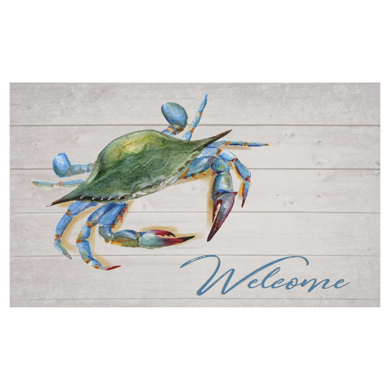 Blue Crab Welcome Floor Mat - Maryland O Mine