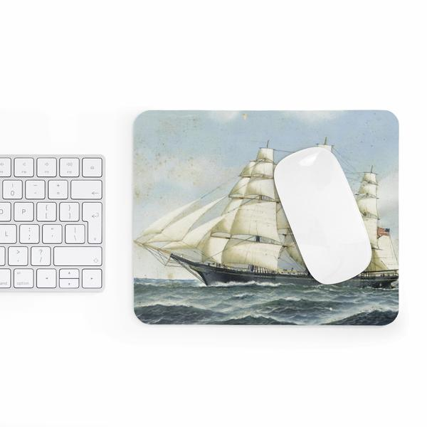 Clipper Ship Mouse Pad - Maryland O Mine