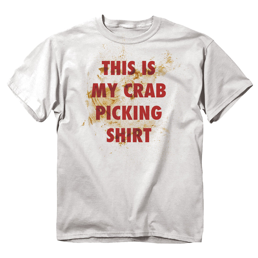 Crab Picking T-Shirt - Maryland O Mine