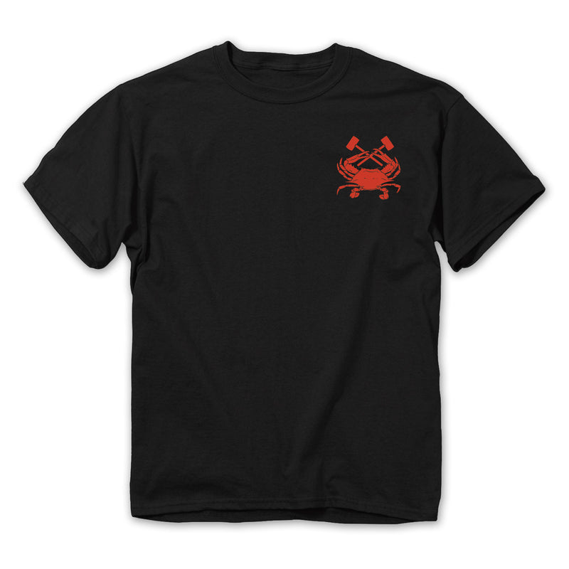 Crab Pot T-Shirt - Front - Maryland O Mine