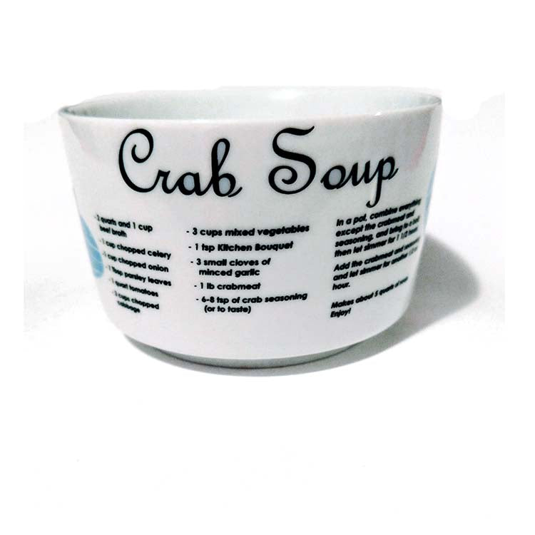 Crab Soup Recipe Mug - Maryland O Mine