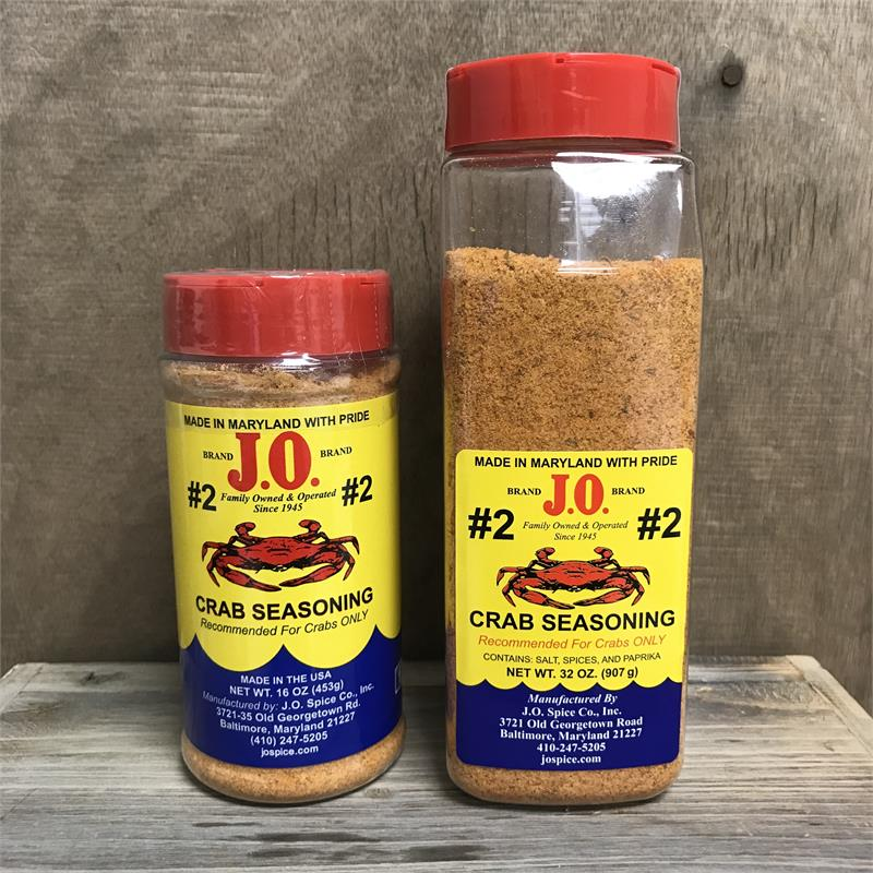 "J.O. No. 2 ""Crab House Spice"" Bottles"
