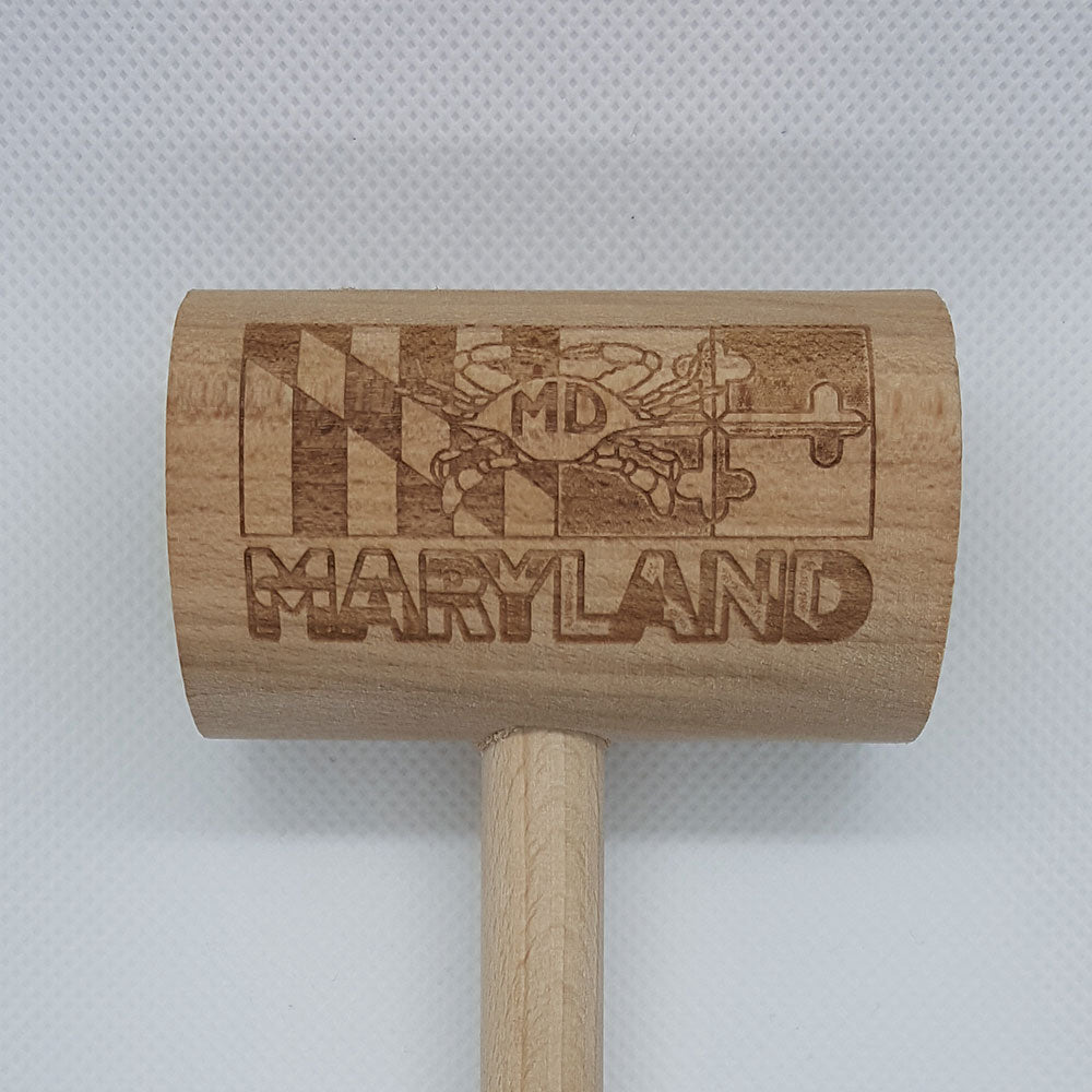 Maryland Flag MD Crab Mallet