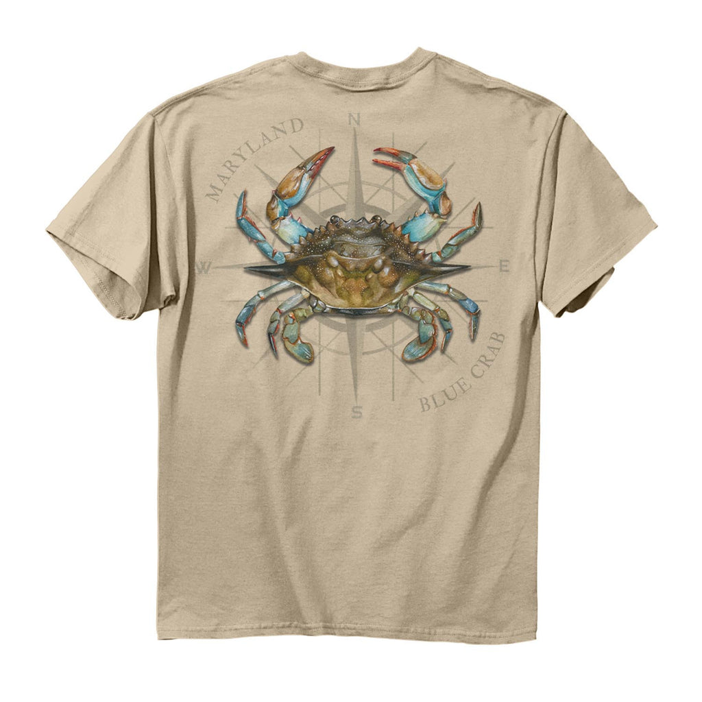 Maryland Blue Crab T-Shirt - Maryland O Mine