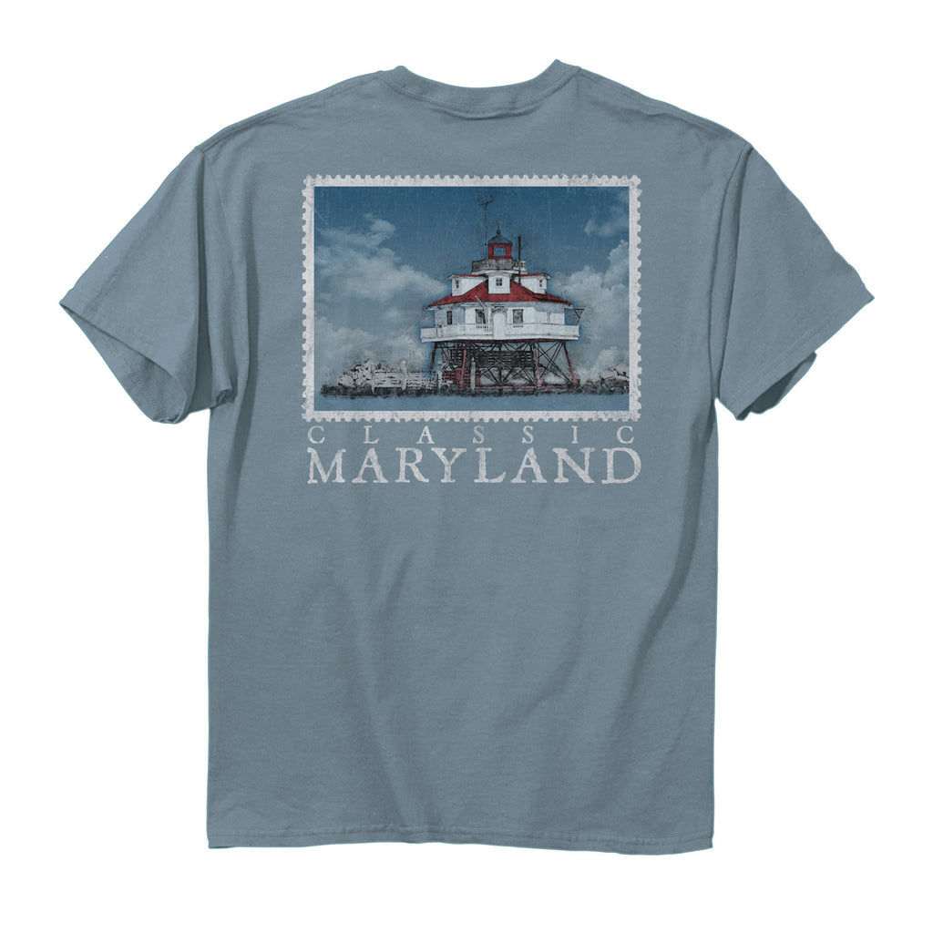 Maryland Classic Lighthouse T-Shirt - Maryland O Mine