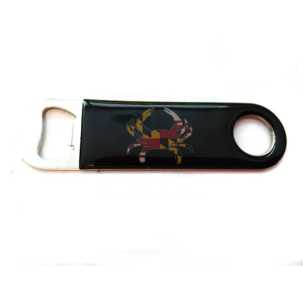 Maryland Crab Bottle Opener Magnet - Maryland O Mine