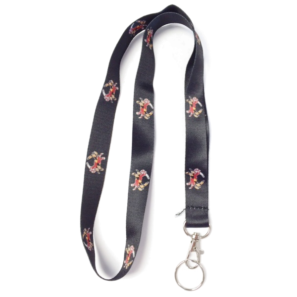 Maryland Crab Lanyard - Maryland O Mine