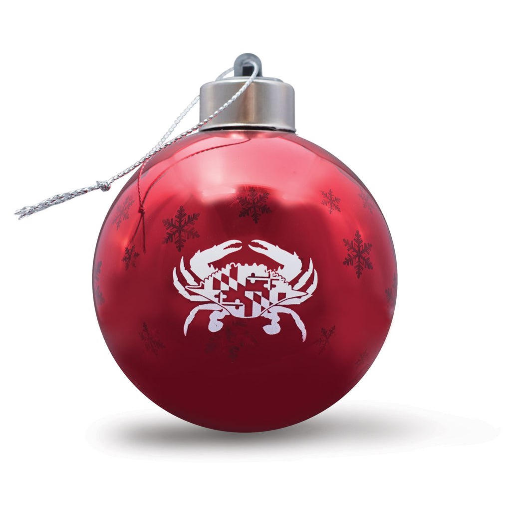 Maryland Crab Light Up Ornament - Maryland O Mine
