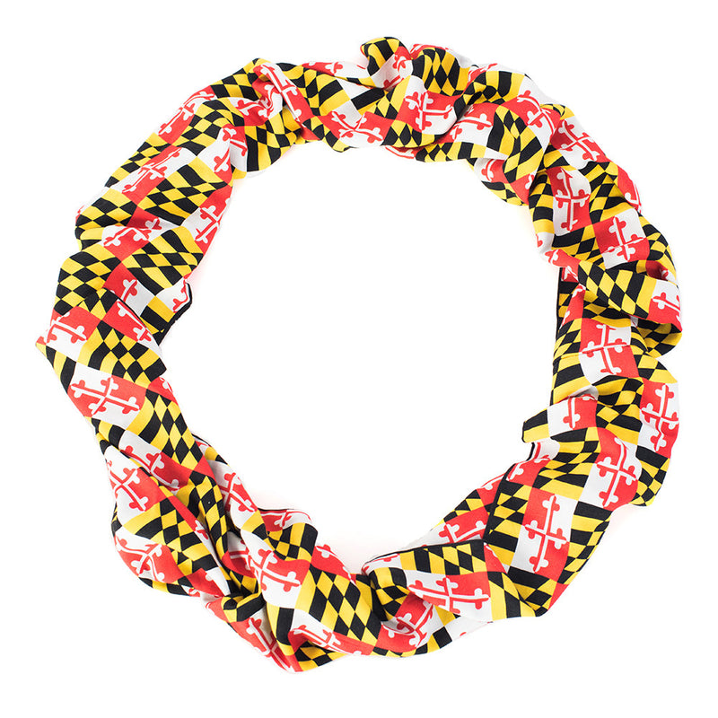 Maryland Crab Reversible Infinity Scarf - MD Flag - Maryland O Mine