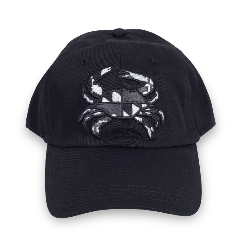 Maryland Crab Tonal Black Hat - Maryland O Mine